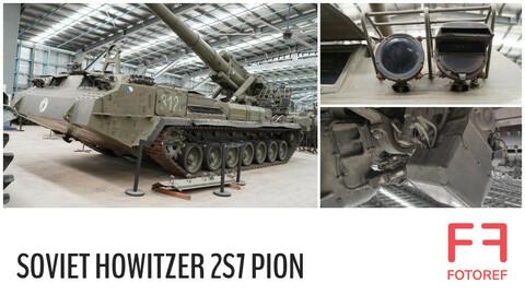 166 photos of Soviet Howitzer 2S7 Pion