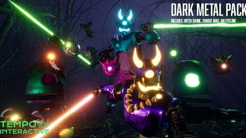 Dark Metal Series - Demon Witch Zombie