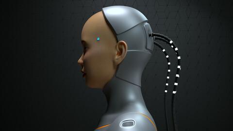 Scifi Cyborg Female