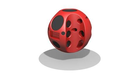 Sci fi ball Drone concept