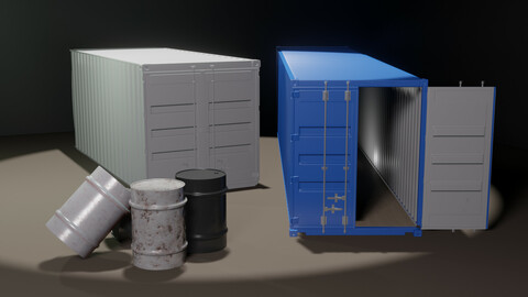 Container and Barrel