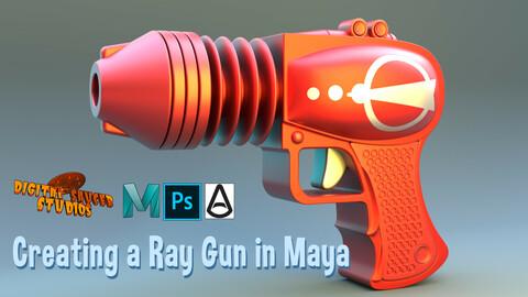 Creating a Ray Gun in Maya