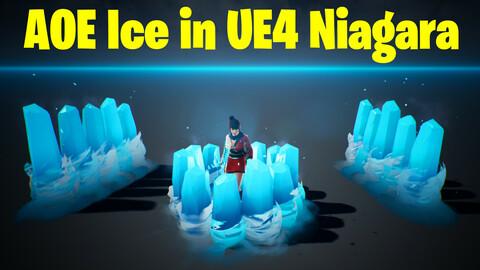 AOE ICE in UE4 Niagara