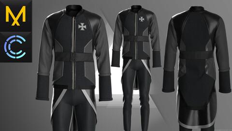 New work Outfit Male OBJ FBX ZPRJ
