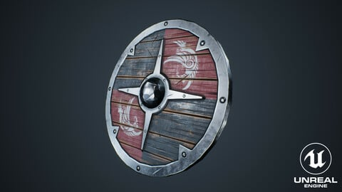 Viking Weapons - Flat Shield IV