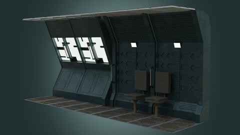 Sci-fi interior modules
