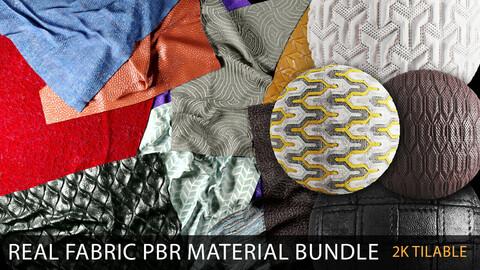 real fabric PBR material bundle
