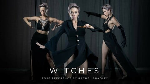 Witches - Pose Reference for Artists