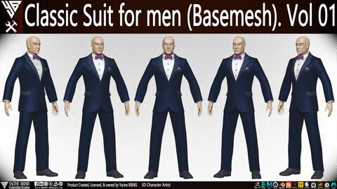 Classic Suit for men (Basemesh) Vol 01