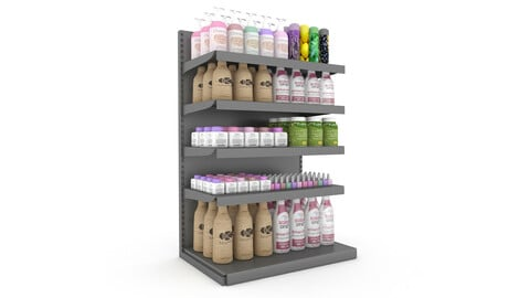 cosmetic product market stand 0
