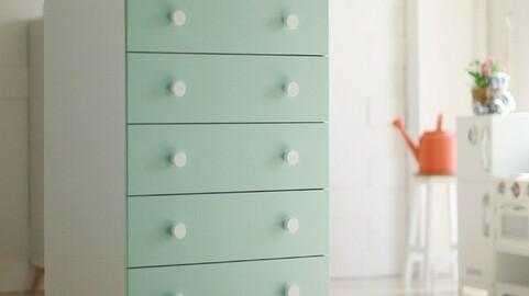 Lauren 5-tier chest of drawers