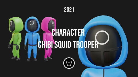 CHARACTER - CHIBI SQUID TROOPER