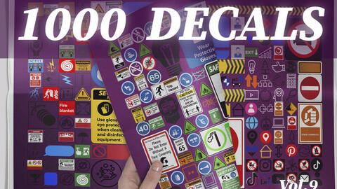 1000 Decals vol.9
