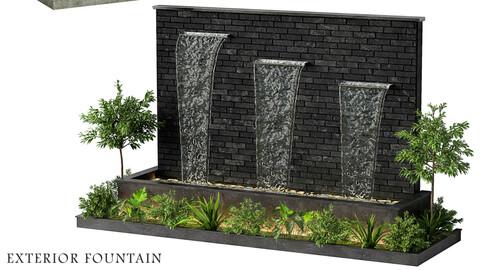 Exterior fountain 22