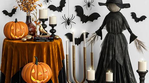 Decoration set for Halloween 01