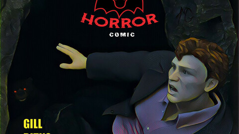 Read and Colour: Horror - High-res download