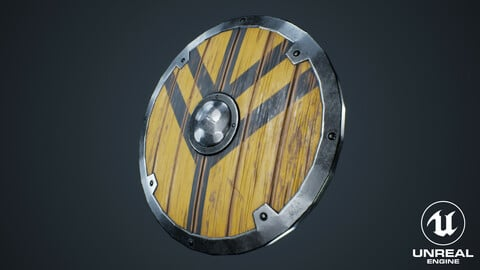 Viking Weapons - Curved Shield II