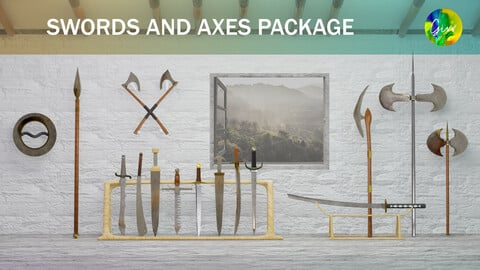 Blood and Glory 01 : Swords and Axes