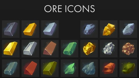 Ore Icons Pack