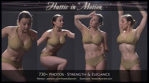 Hattie in Motion