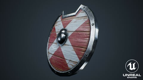 Viking Weapons - Curved Shield III