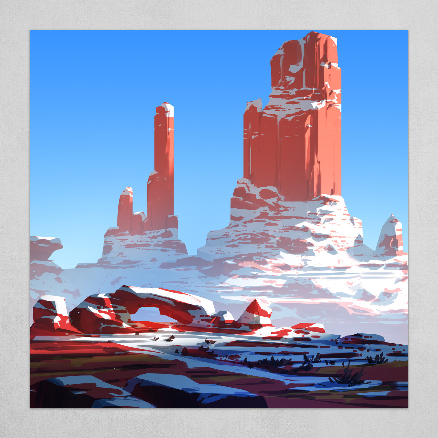 Red Mountains 1