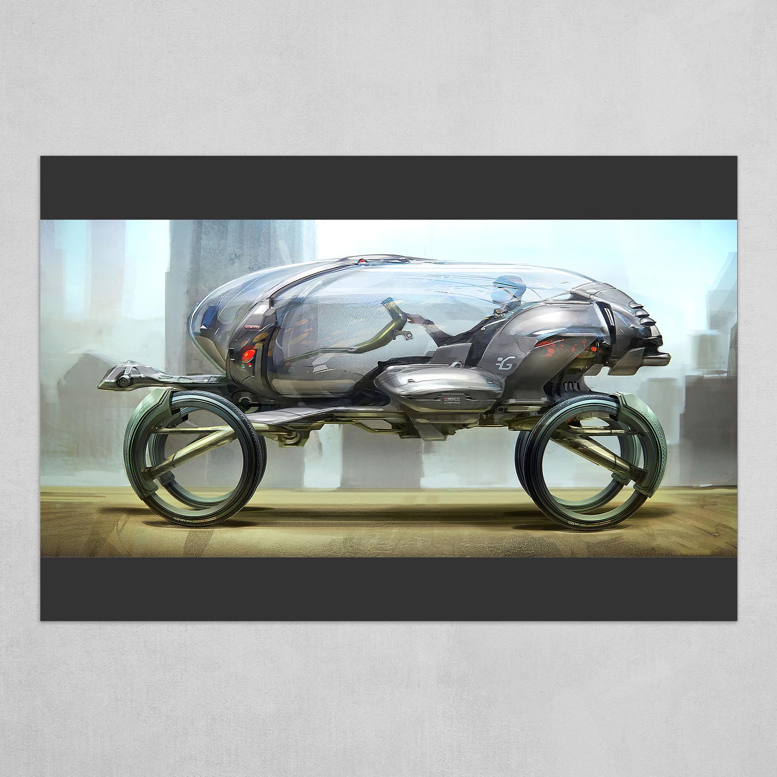 Egg vehicle