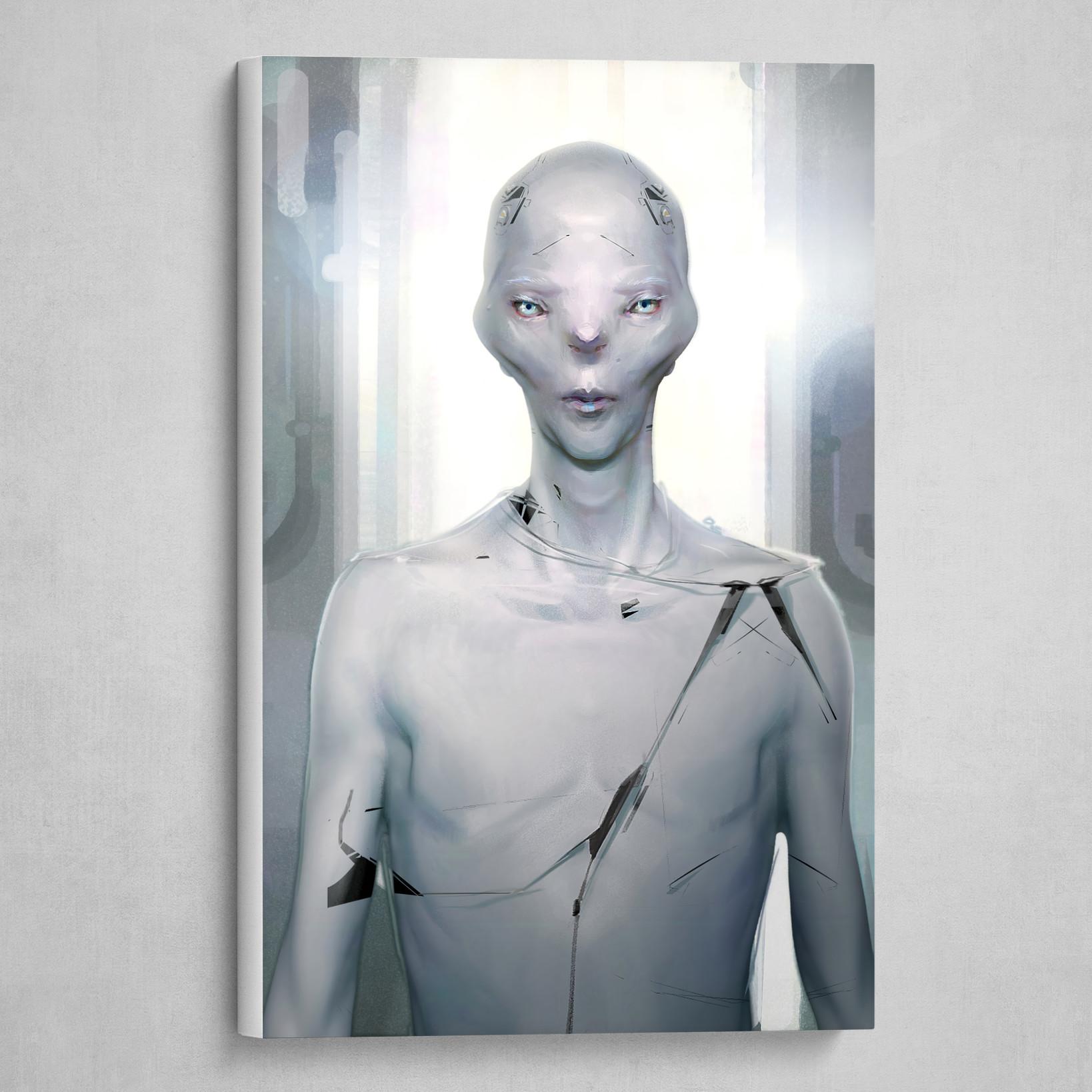White transhuman