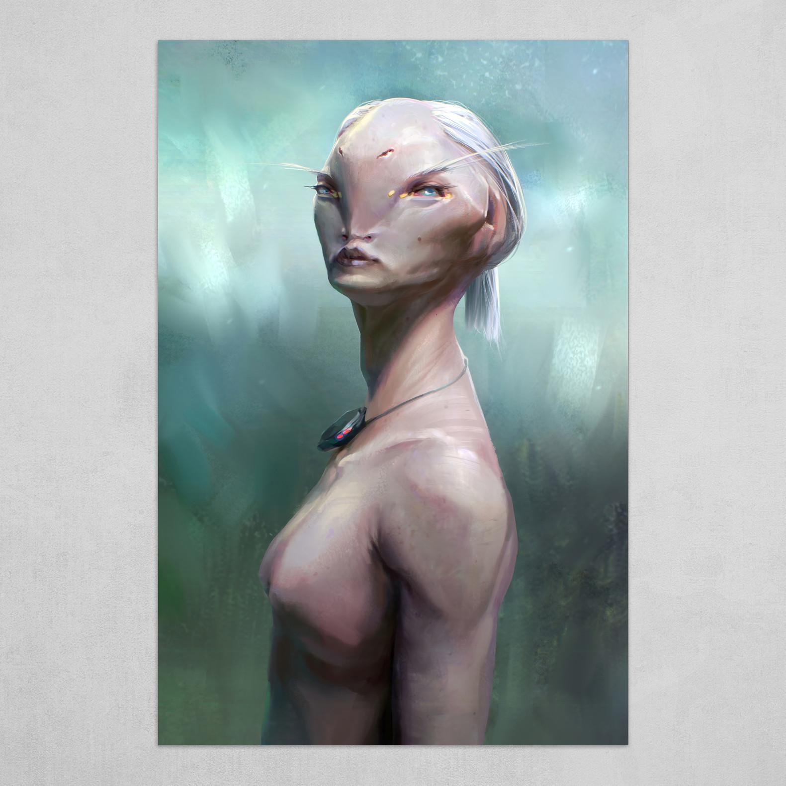 Pink transhuman
