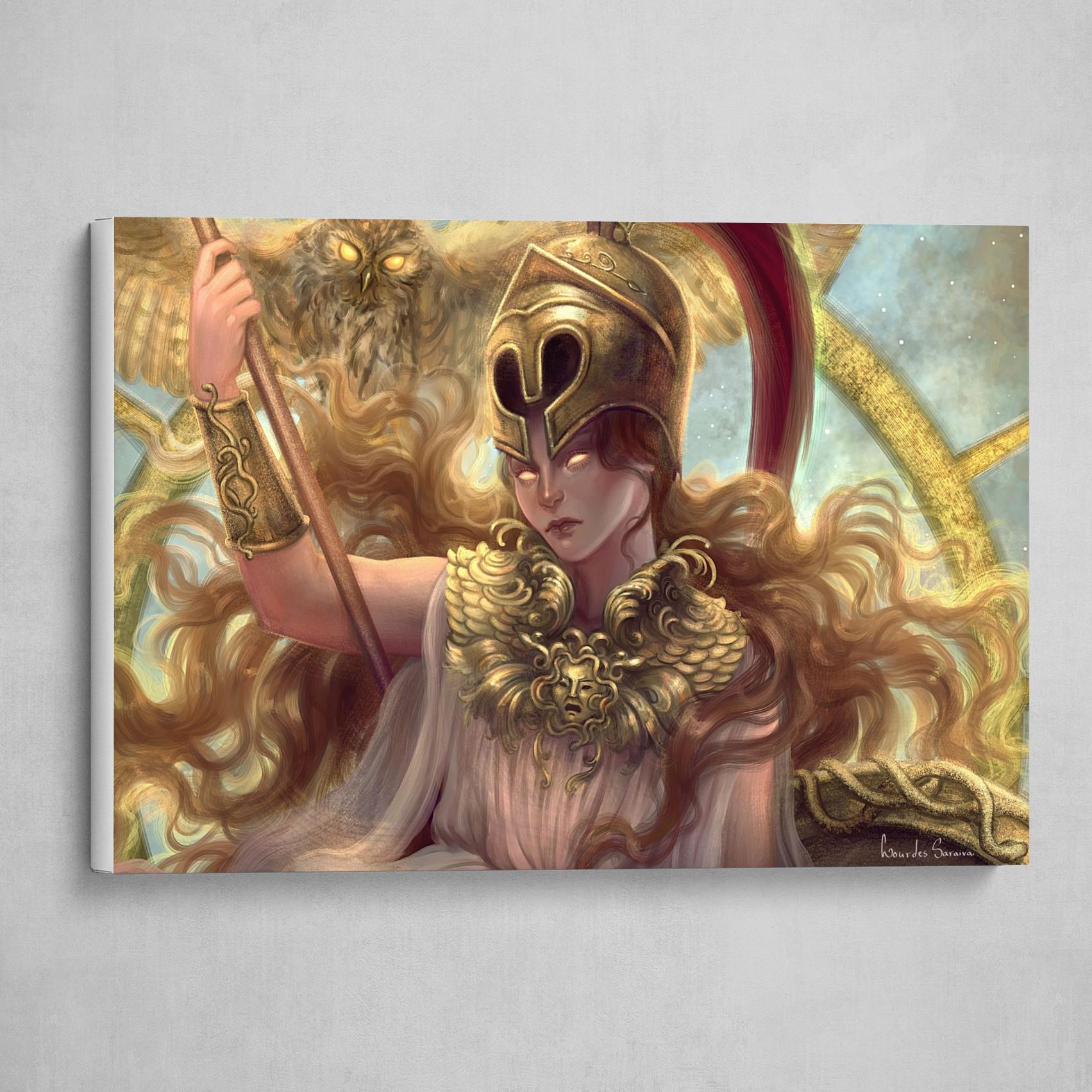 Athena (detail)