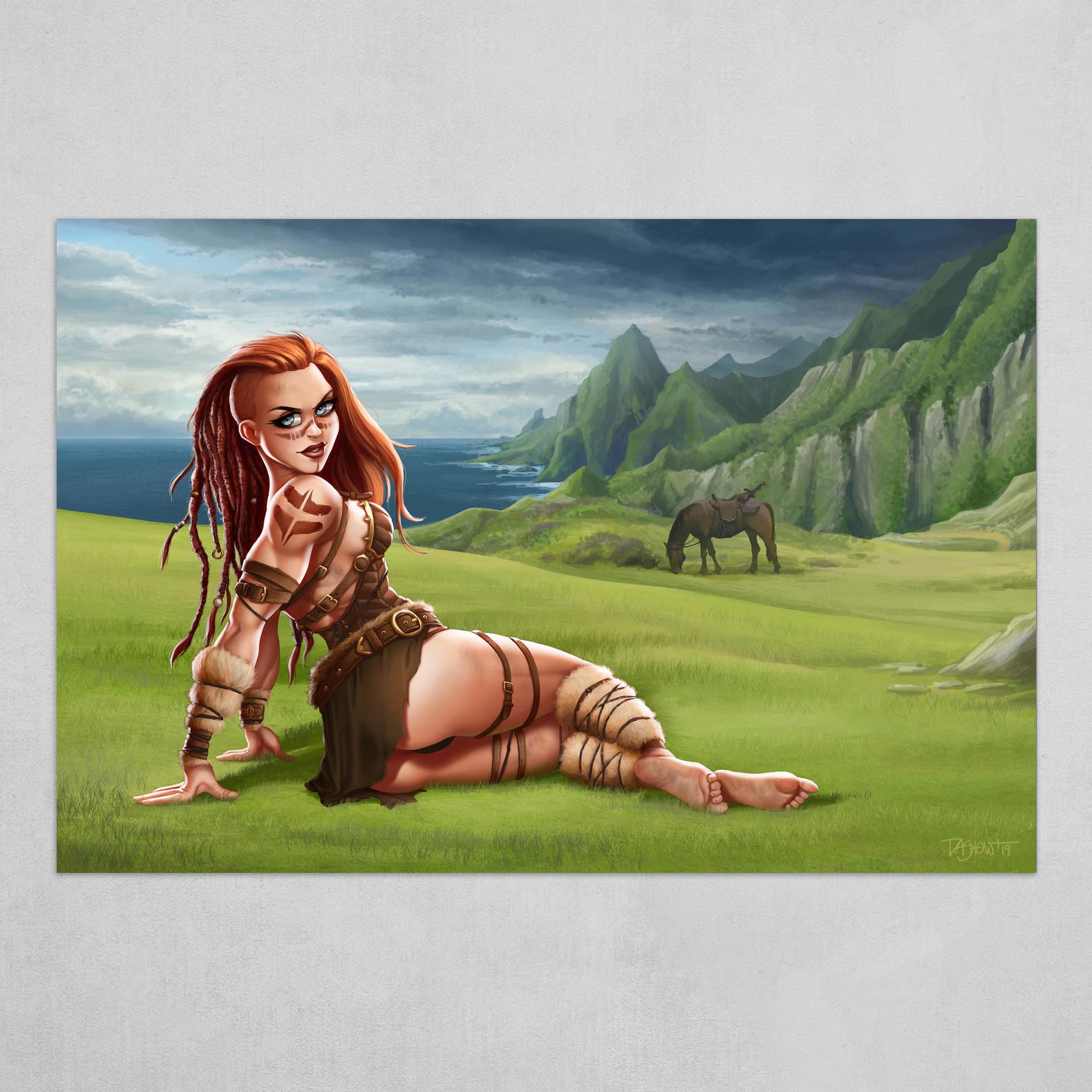 Skalla the Barbarian