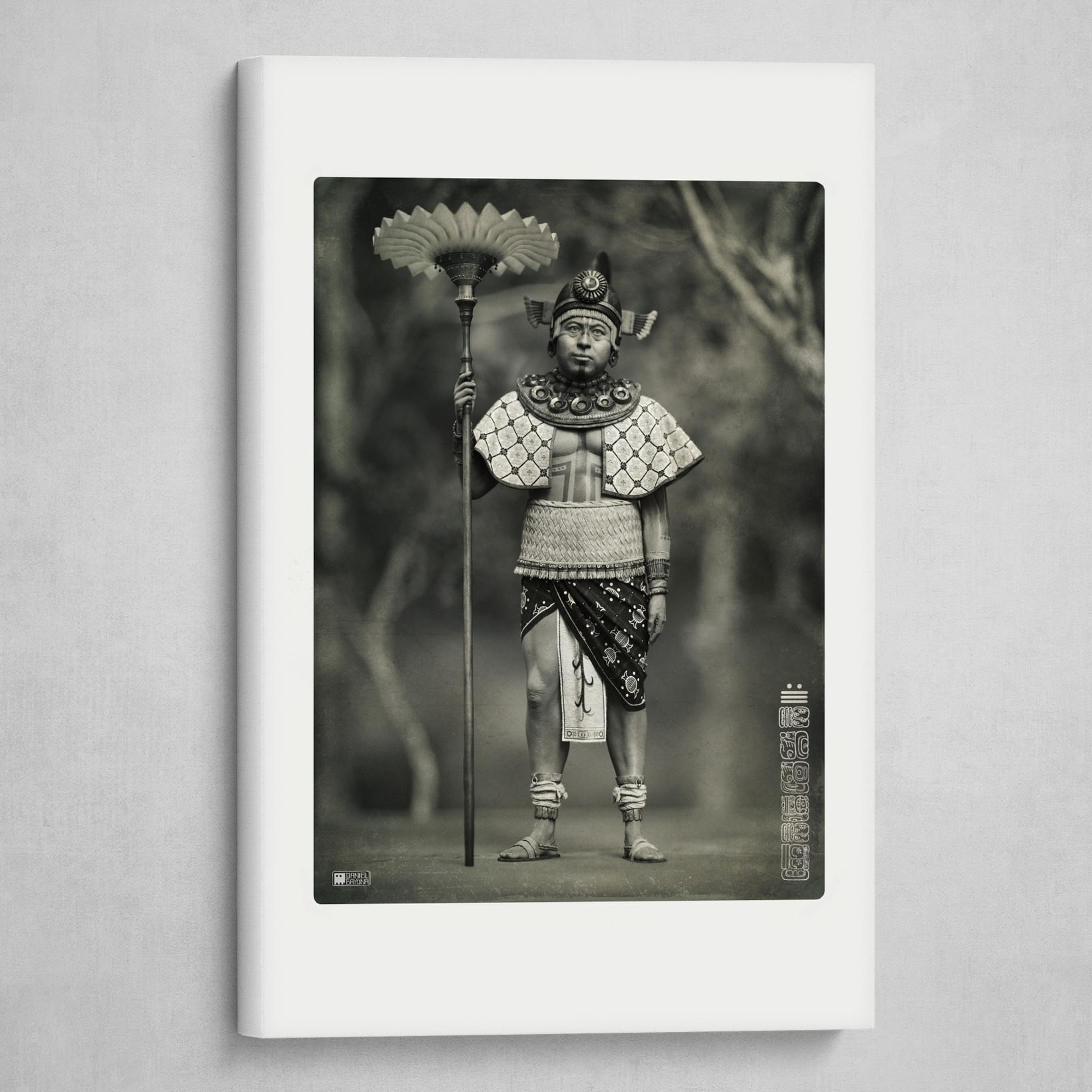 Maya Merchant 10th Century / B&W