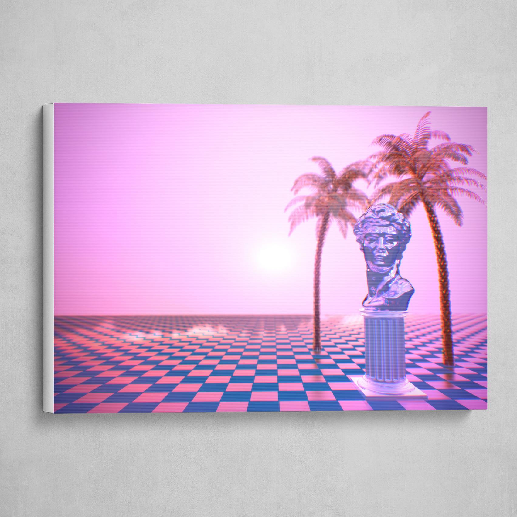 Vaporwave Scene - Landscape