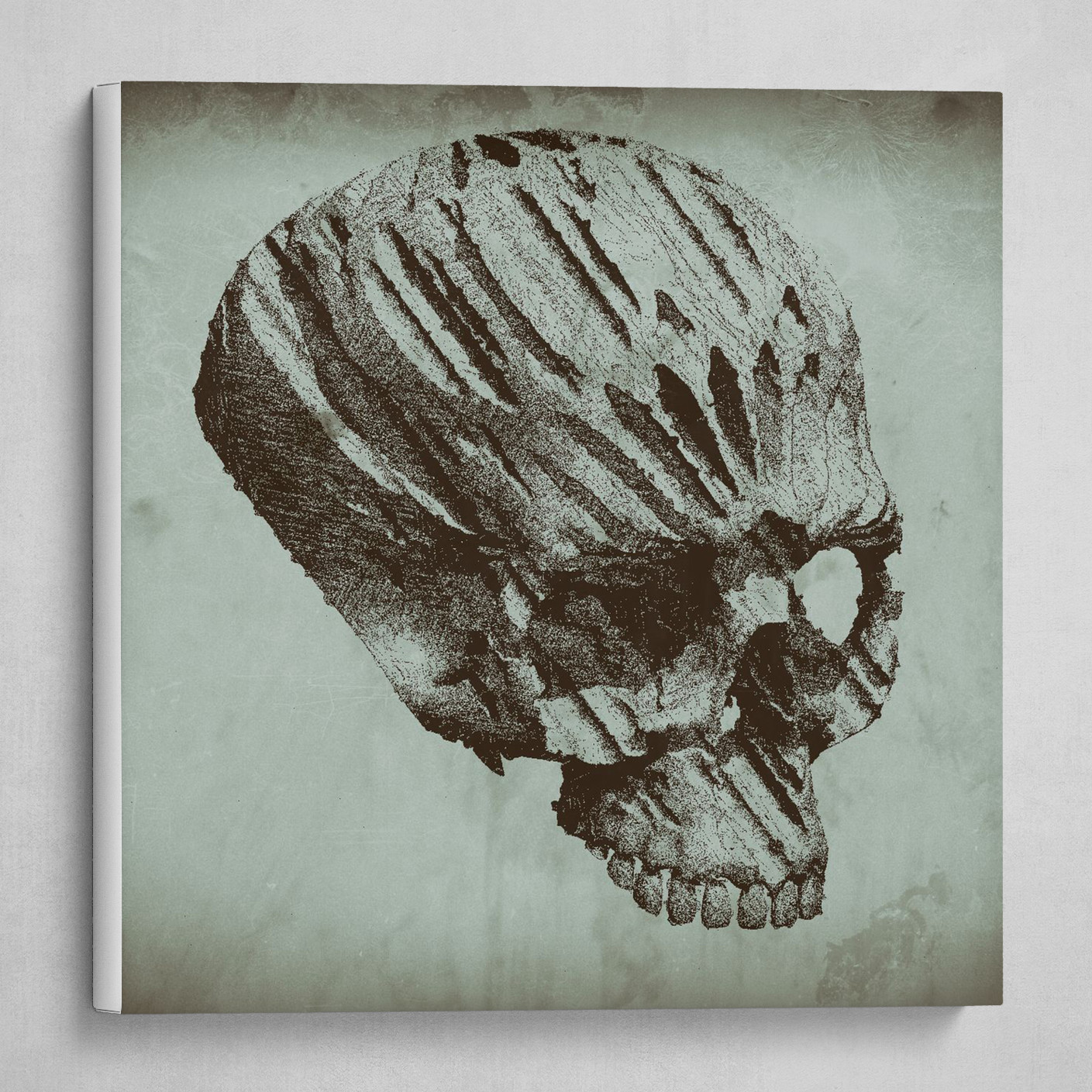 gothic skull old