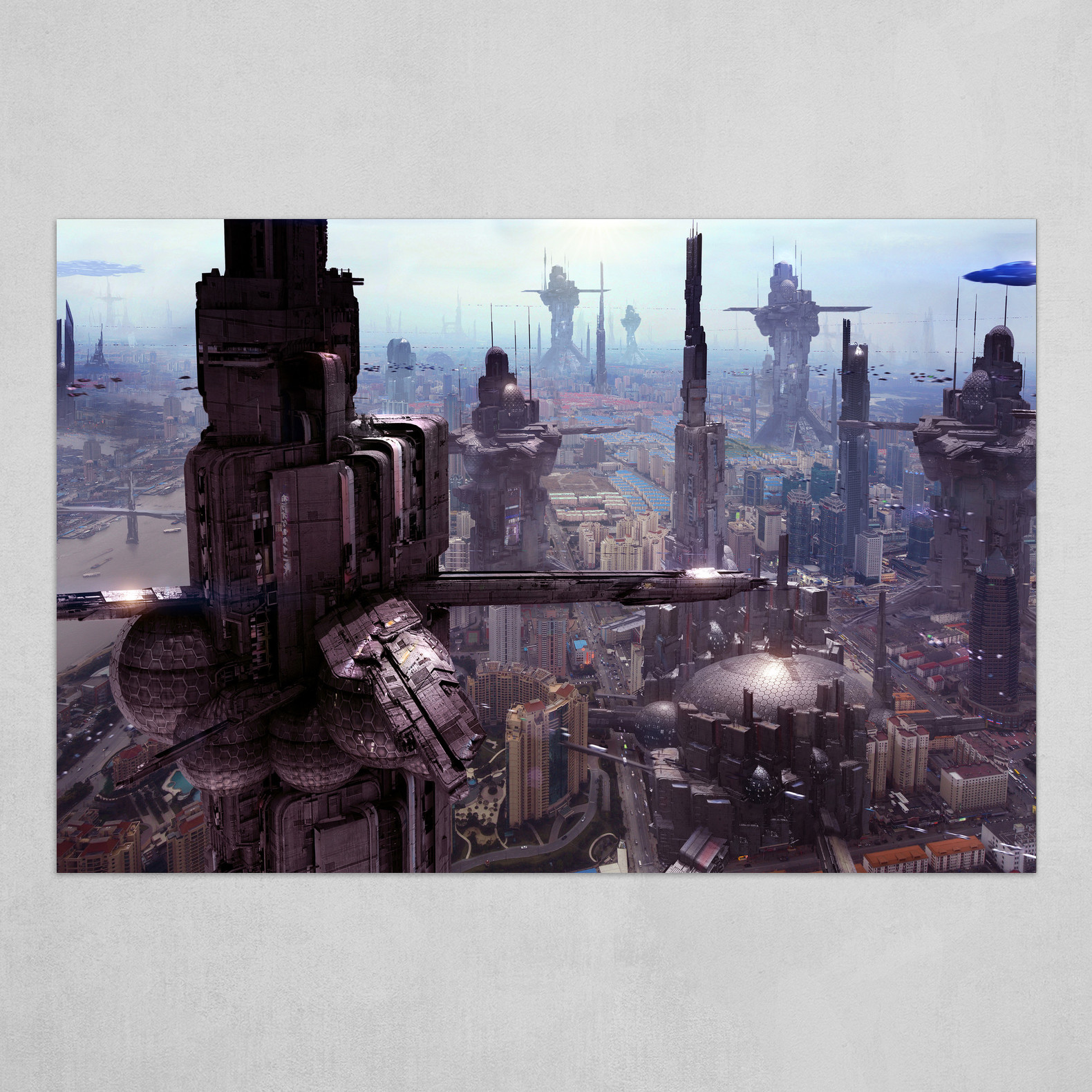 Future City 2130