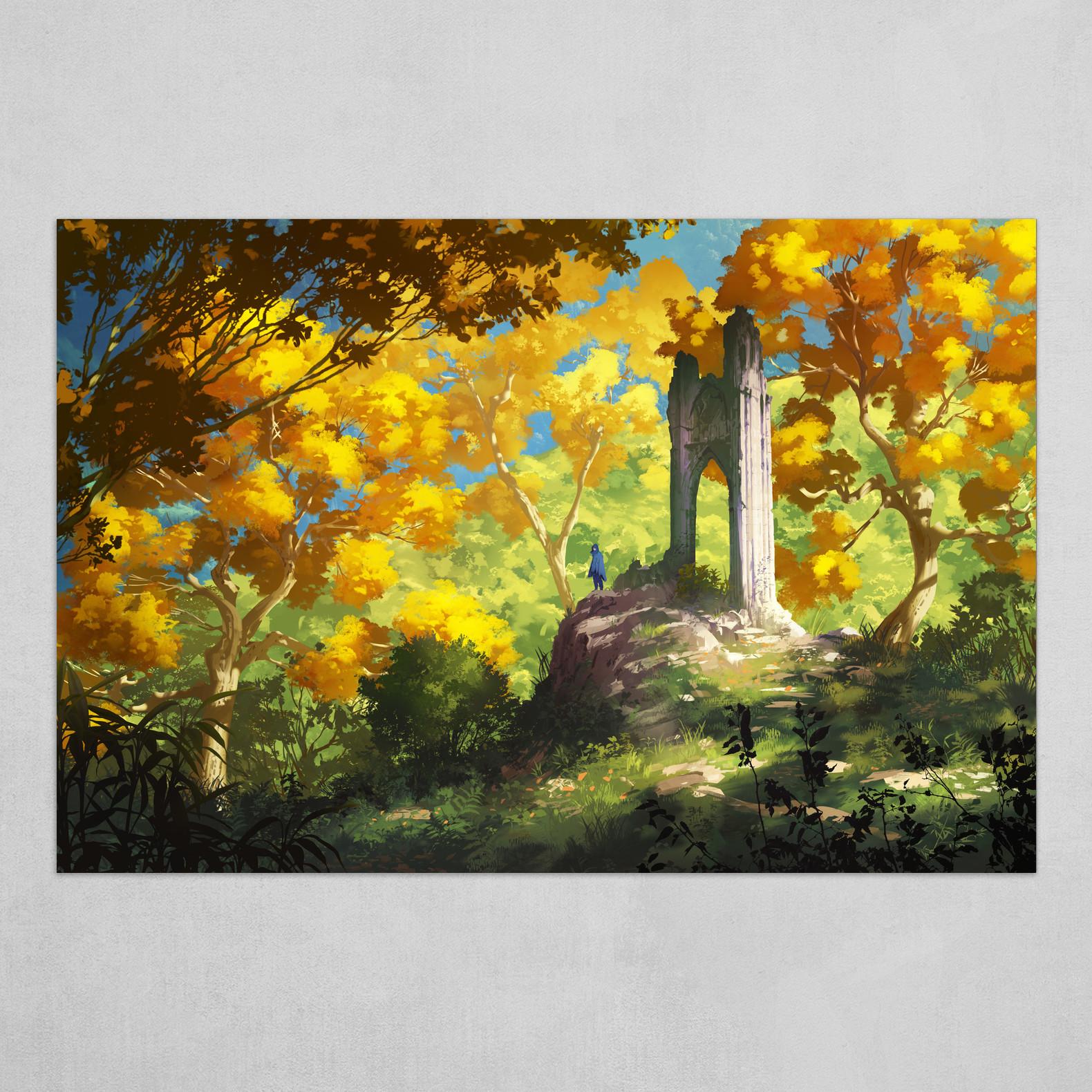 Yellow ruins