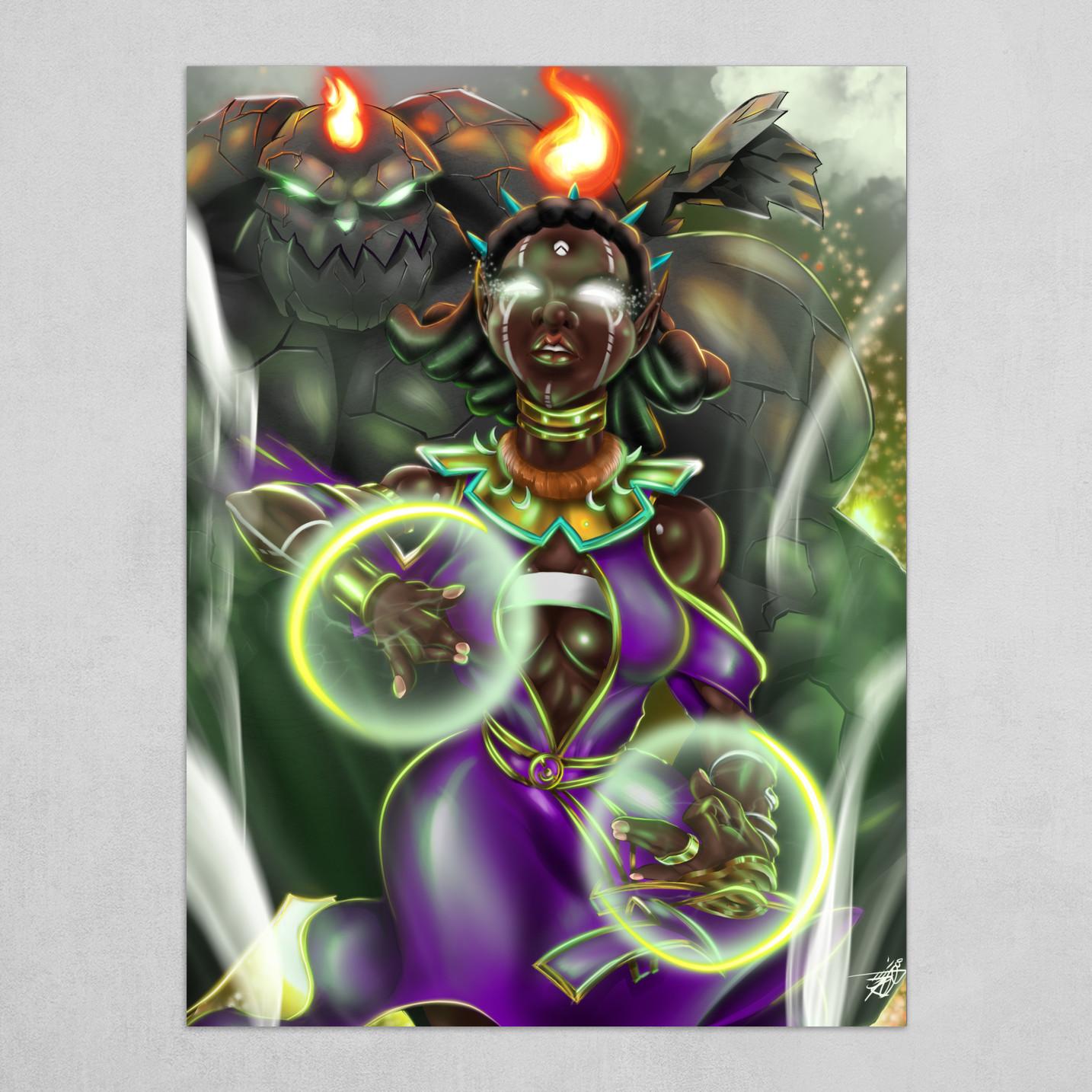 Black Mage Summoner