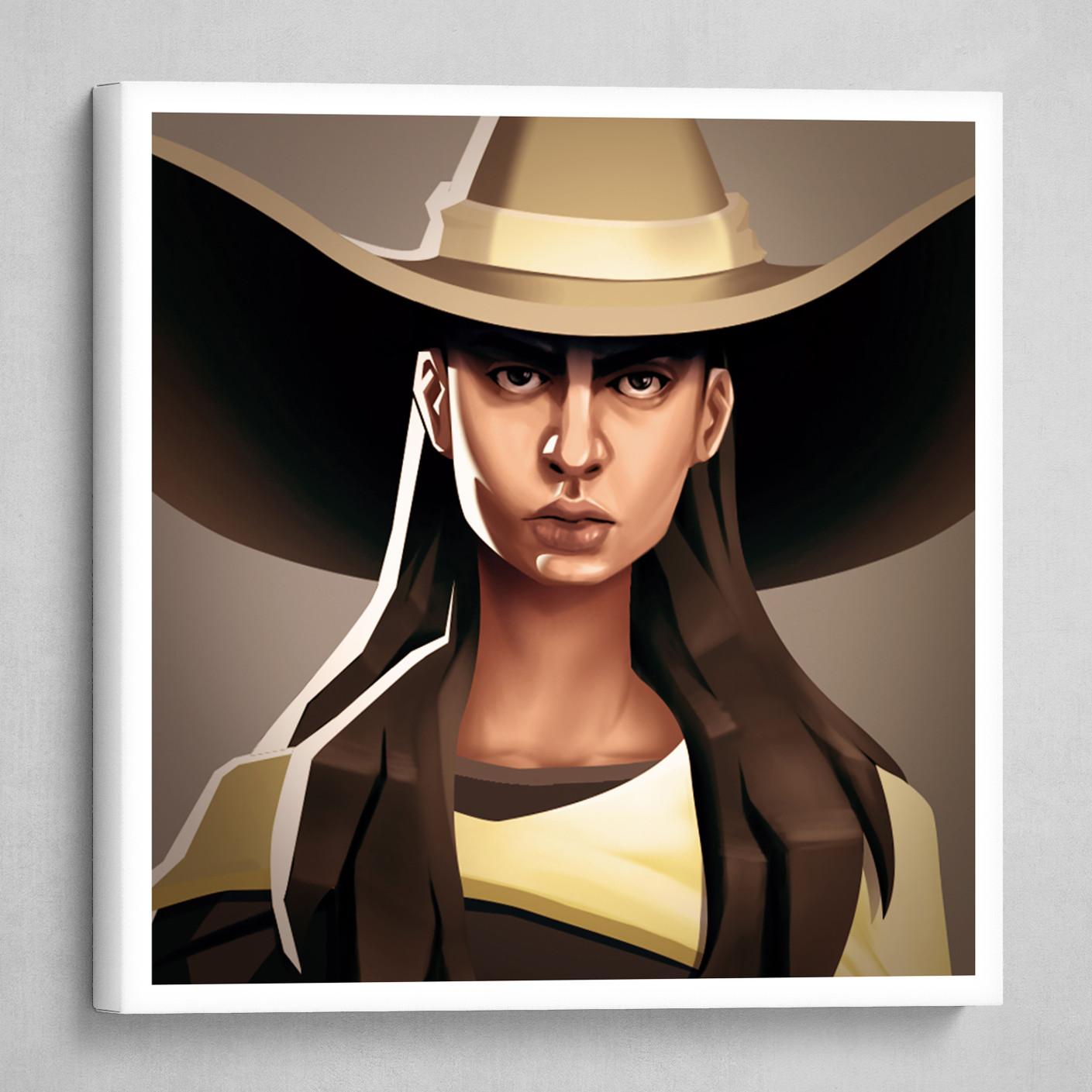 Cowboy - Woman