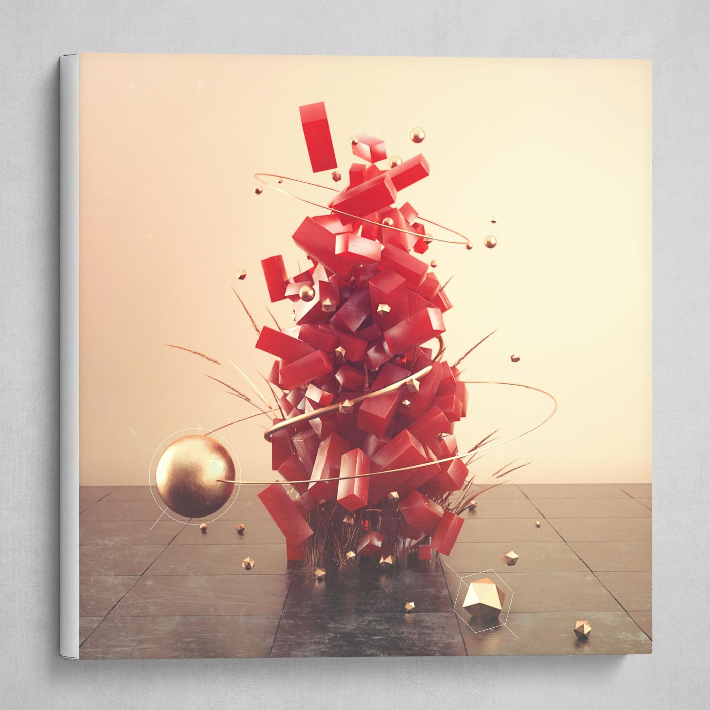 Lakhwinder Singh - Abstract Art - VI