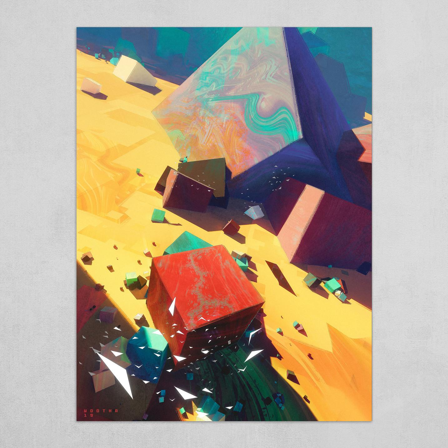 Cubes Landscape