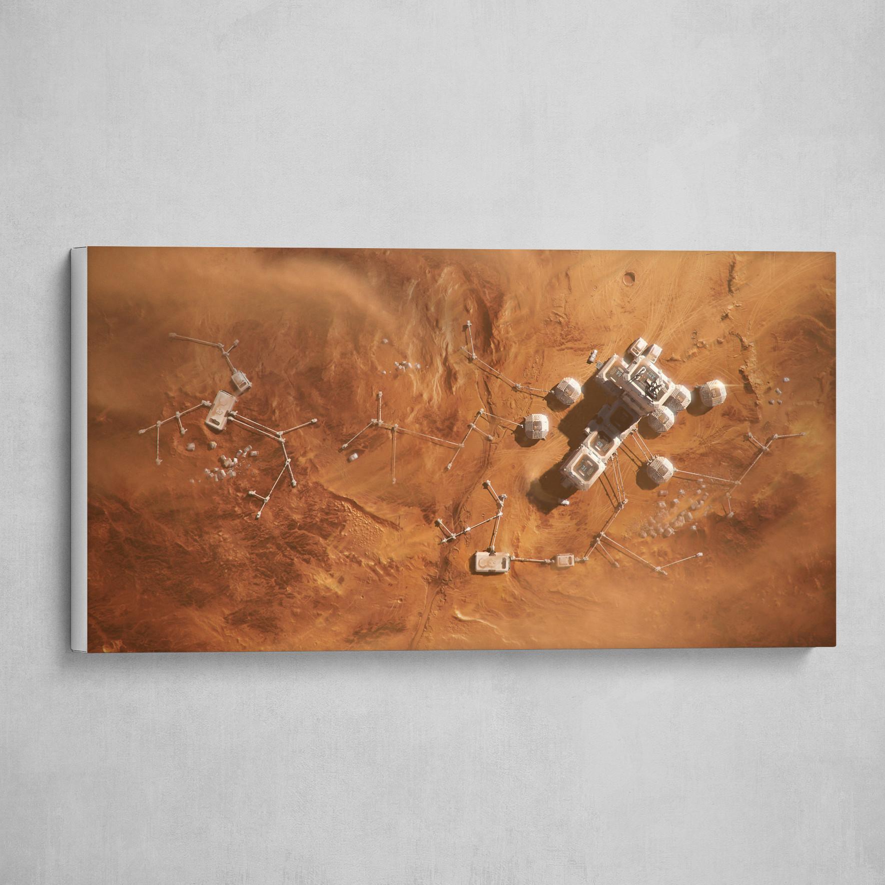 SOL 081 / Martian Base