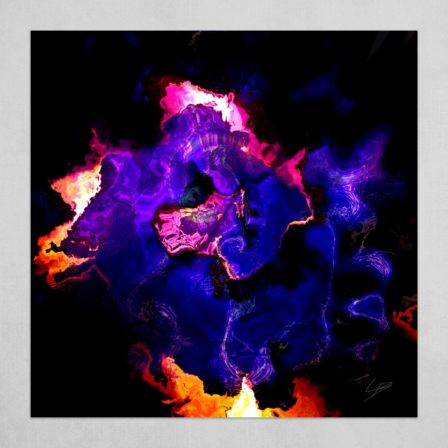 Burning Geode