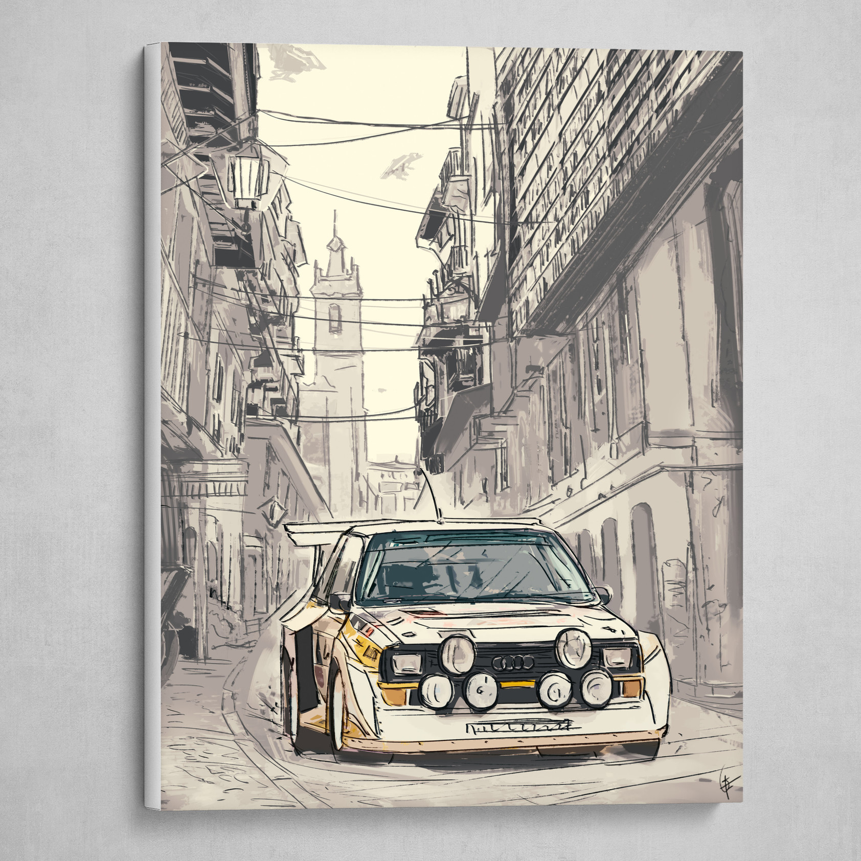 Gregory Fromenteau Audi Quattro Street Racing