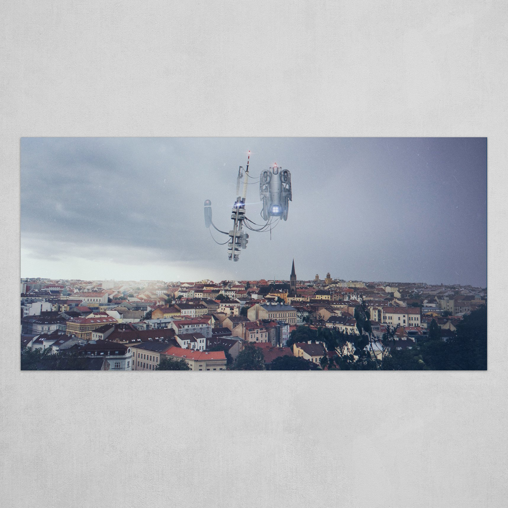 Aliens over Prague