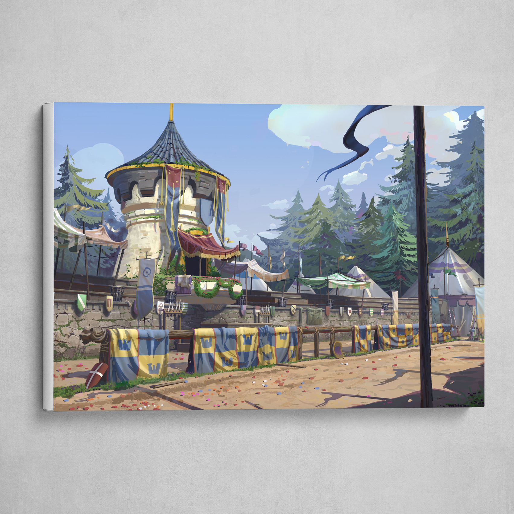 The Jousting Arena