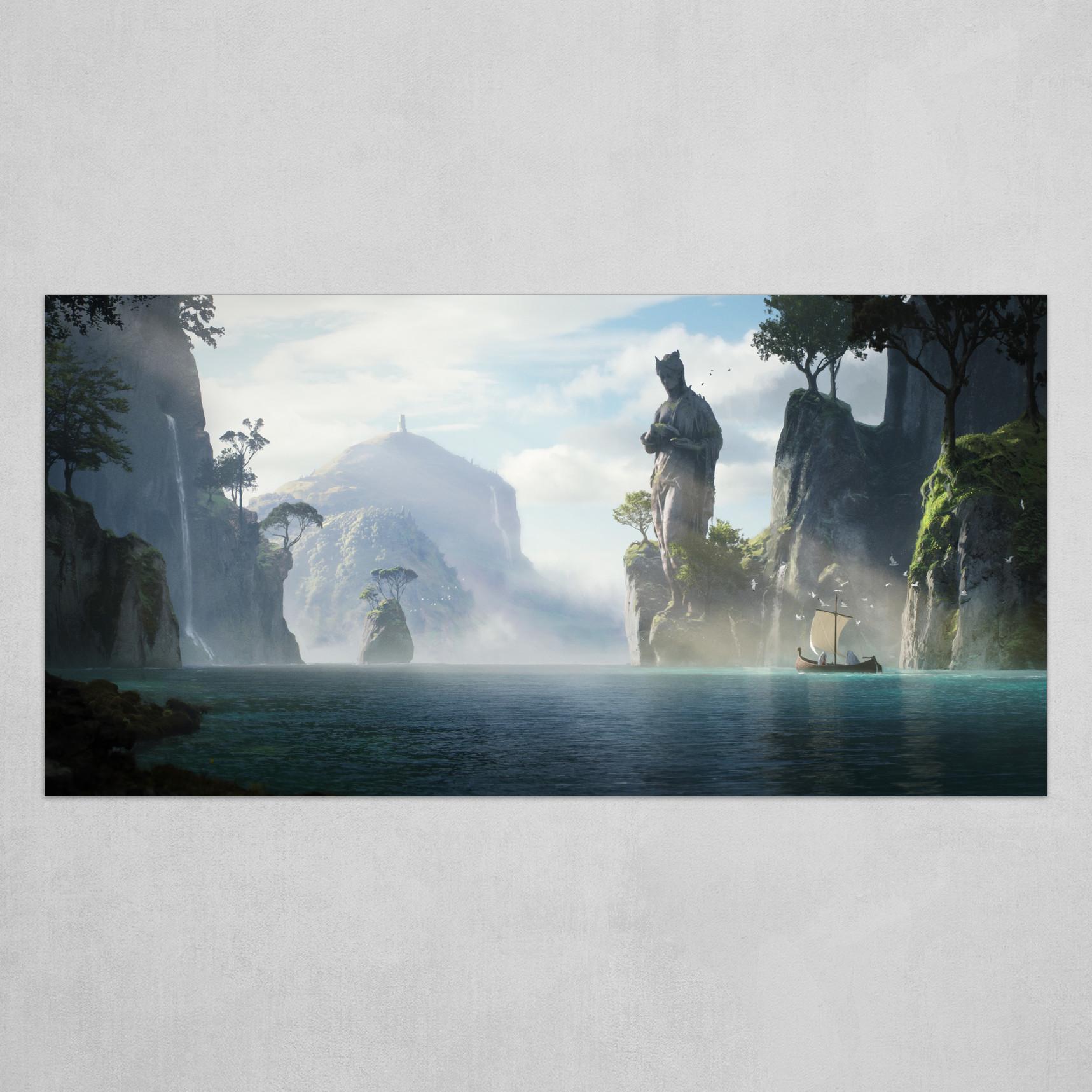 Avalon - Artstation challenge