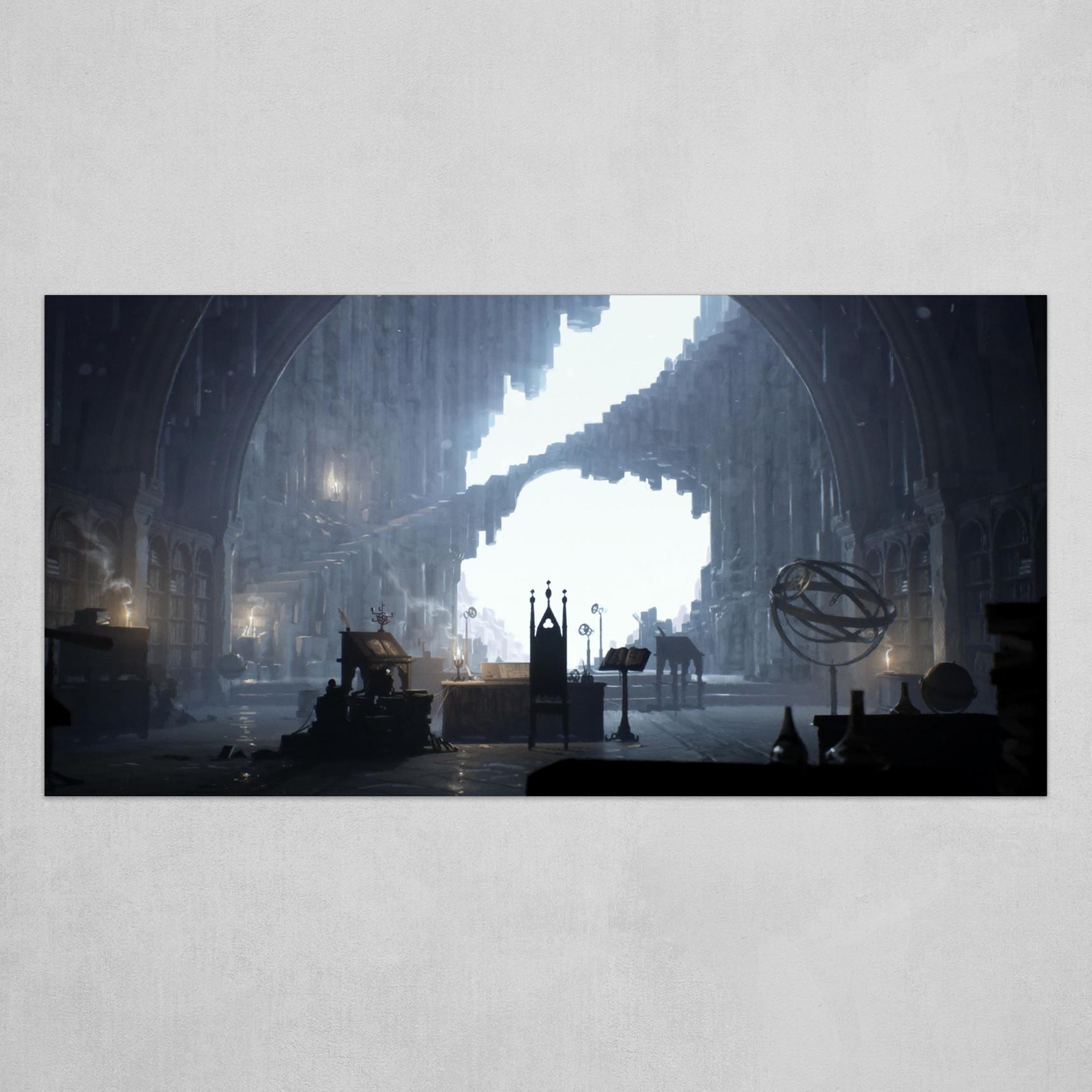 Merlin's Cave - Artstation Challenge