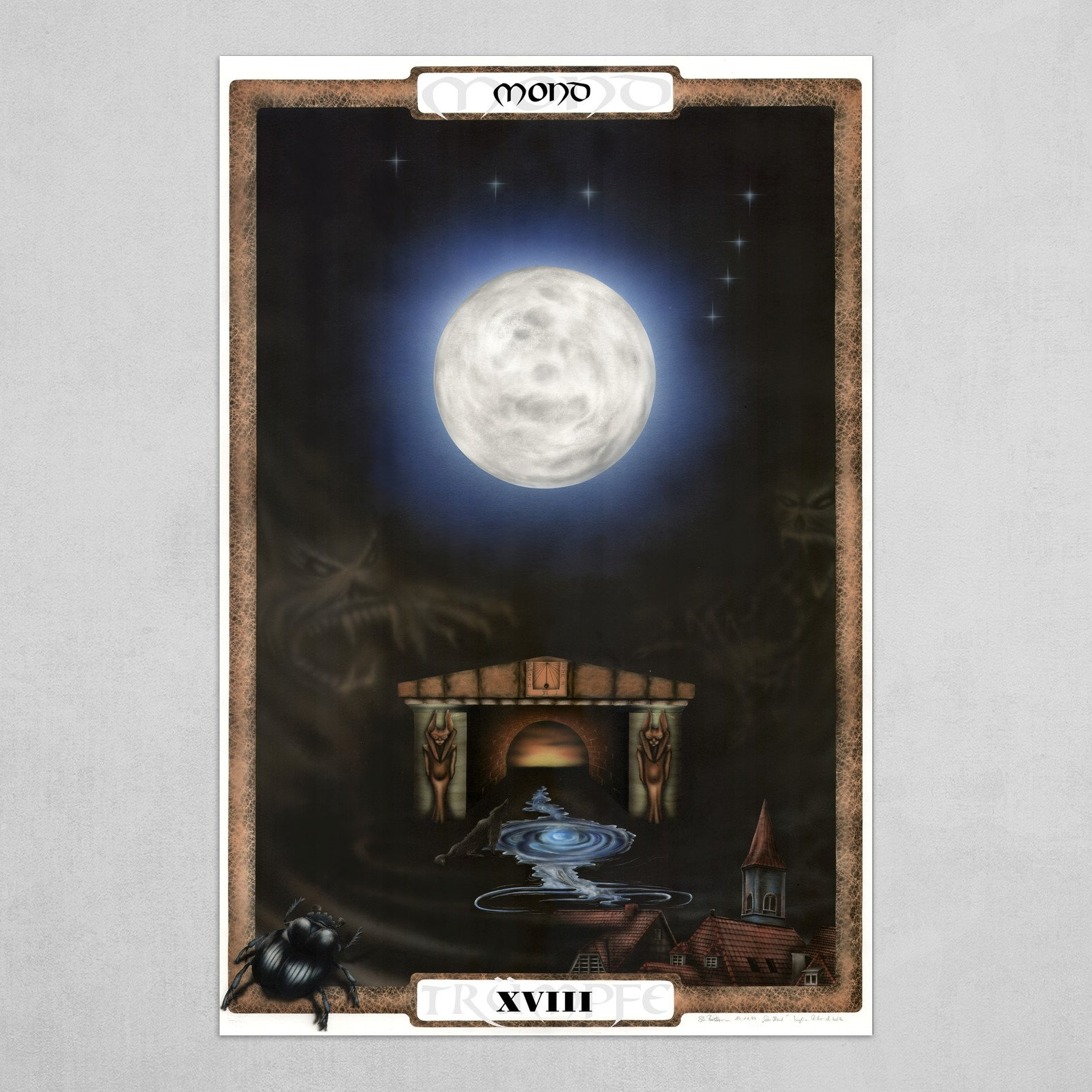 Der Mond - The Moon