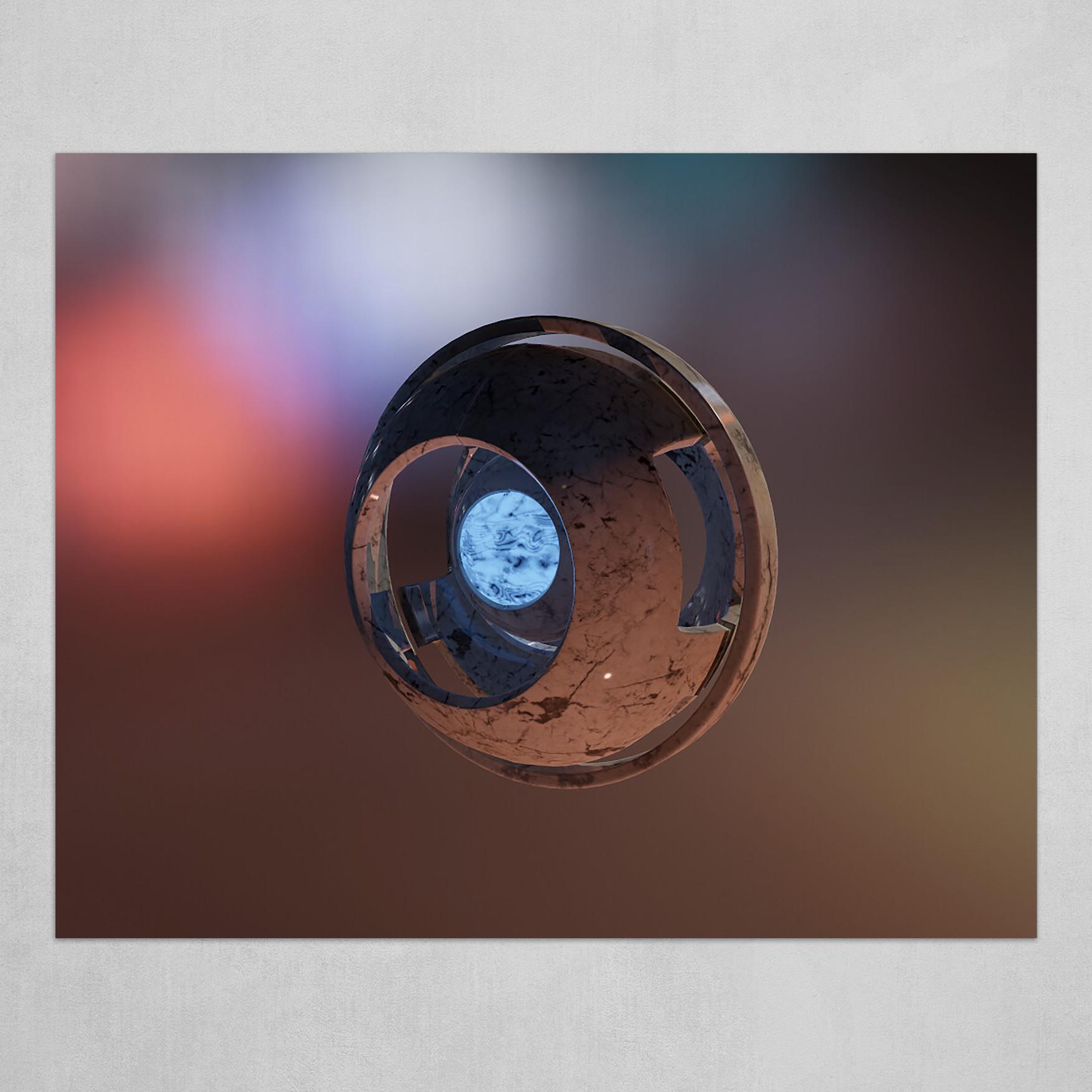 Cosmic Marble Eye II