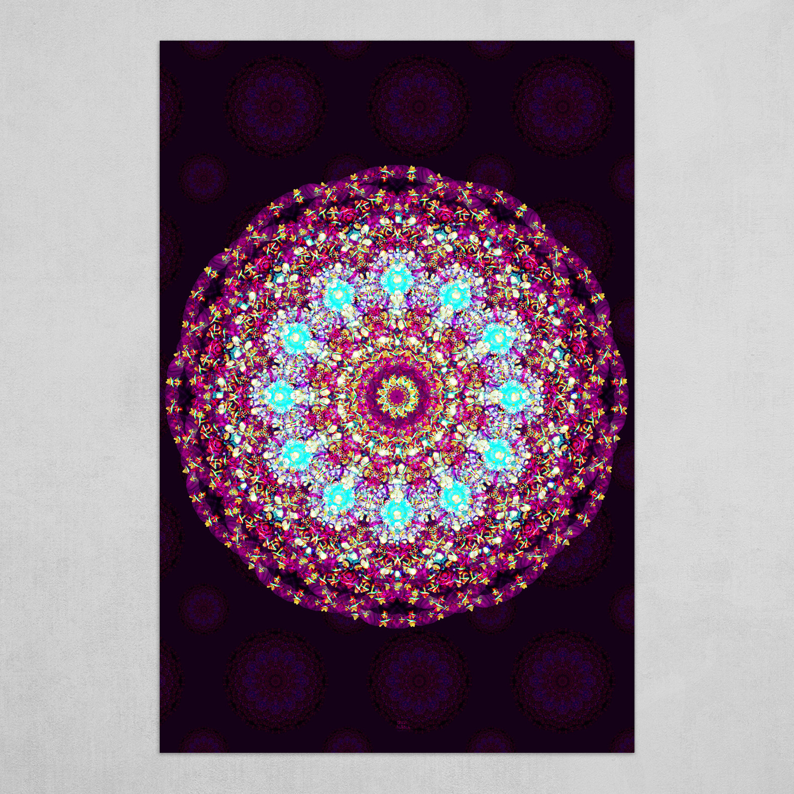 Mandala 2.0 Background (vertical)